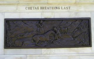 Chetak breathing last