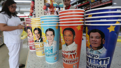 Duterte leads on 7 Eleven 'Slurpee' poll result