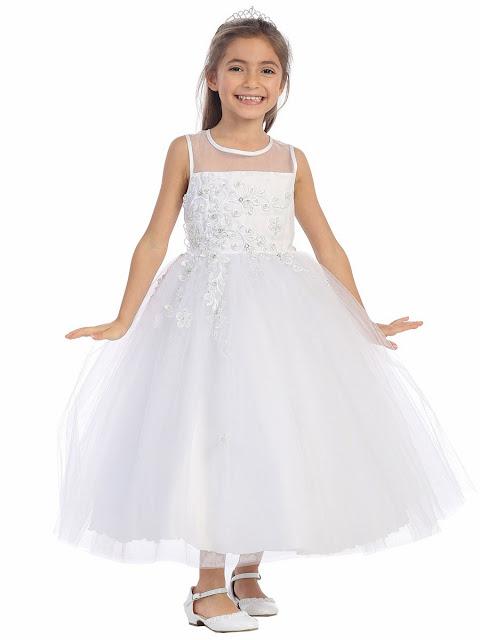 vestidos de primera comunion con crinolina