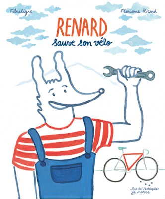Renard sauve son vélo, album jeunesse