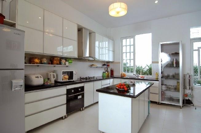 Làm sạch nhà bếp đơn giản