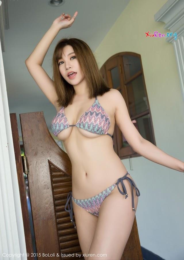Big Tits Teen Model Gallery: Bololi No.080 Liu Ya Xi