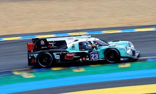 Ligier JS P2 - Nissan HYT de l'écurie Panis Barthez Competition
