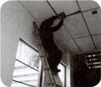 Instalaciones eléctricas residenciales - Colocando el plafón de nuevo