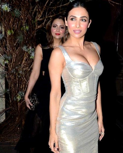 Malaika Arora Khan in Sliver Dress
