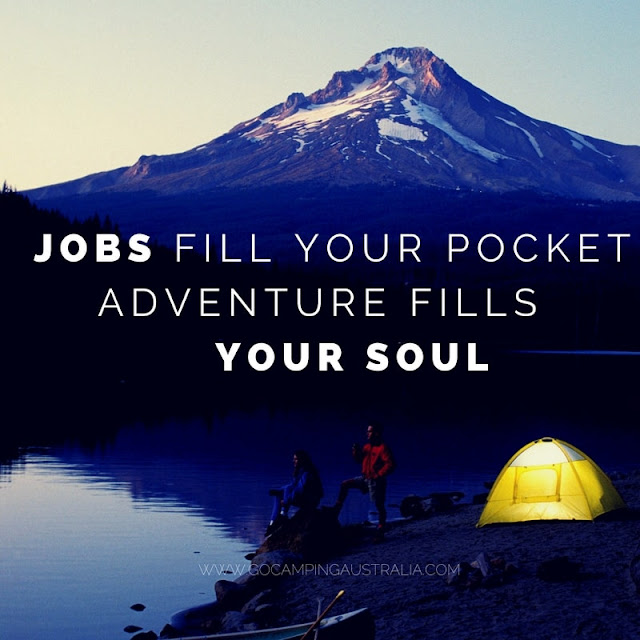 Camping and travel quotes collection to inspire