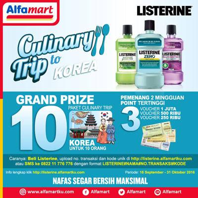 Listerine Culinary Trip to Korea – Alfamart