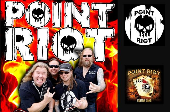 POINT RIOT - Dead Man's Hand (2017) inside