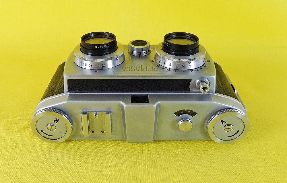 Zusammenstellung Von Ficks, Die Mit Zwei Kameras Aufgenommen Wurden