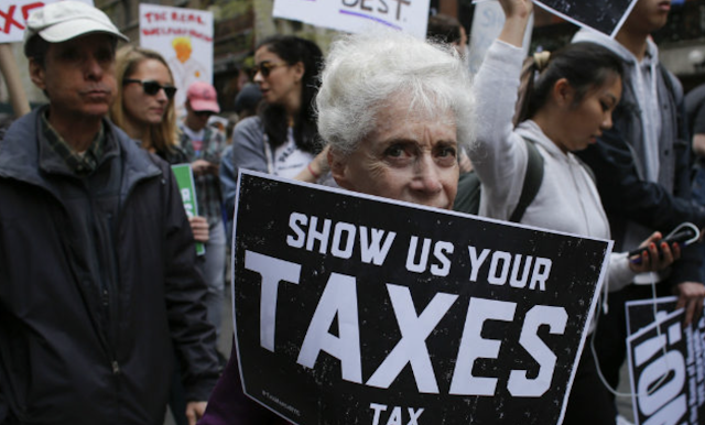 New York Democrats Attempt to Force Release of Trump's Tax Returns