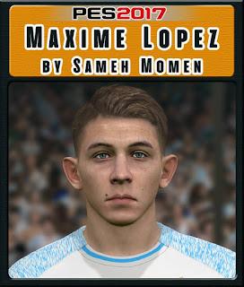PES 2017 Faces Maxime Lopez by Sameh Momen