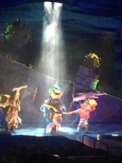 Finding Nemo The Musical, Animal Kingdom Walt Disney World