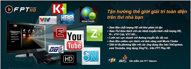 Đăng Ký Lắp Đặt Truyền Hình FPT Play HD - 090 3922 392