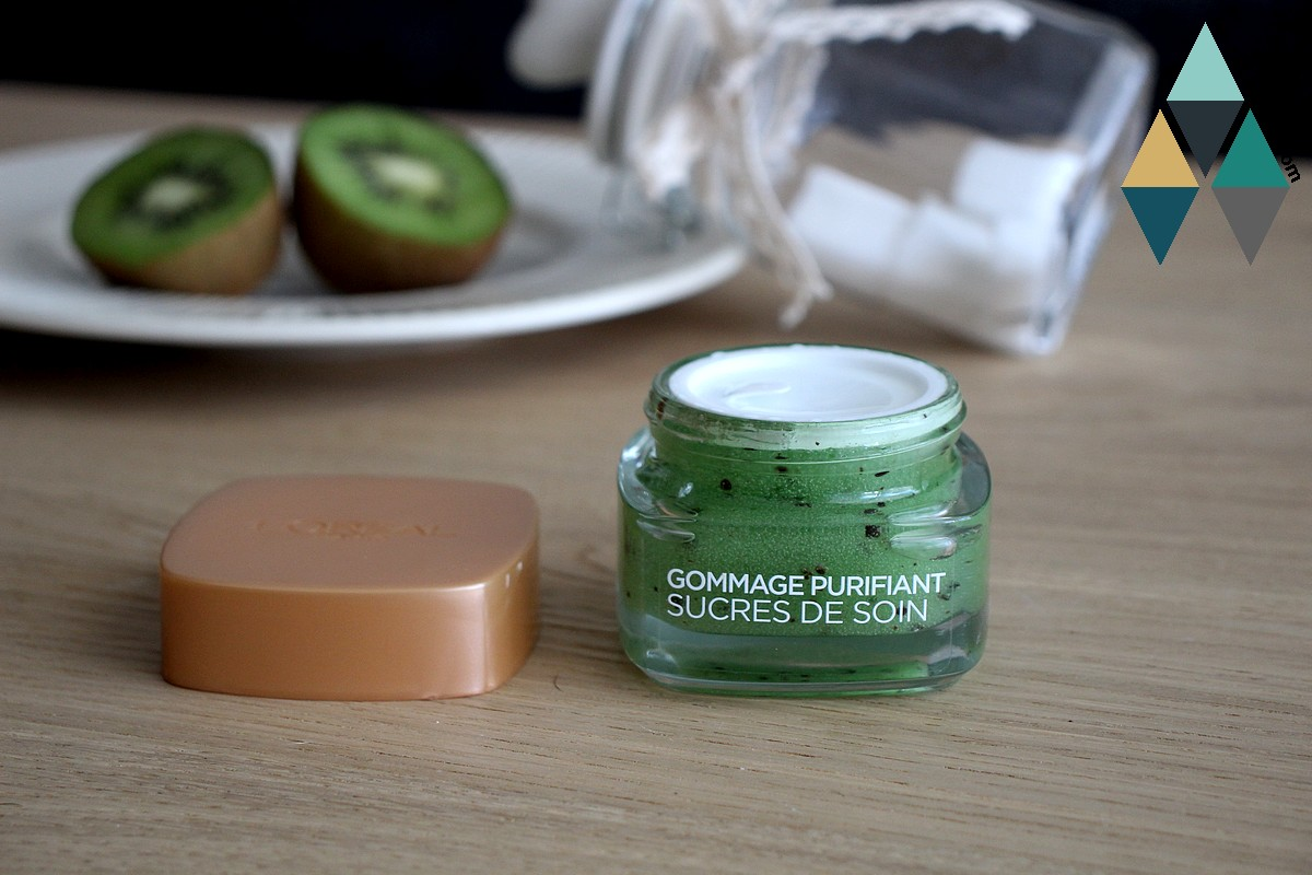 exfoliant sucre purifiant nettoyant peau grasse à imperfections