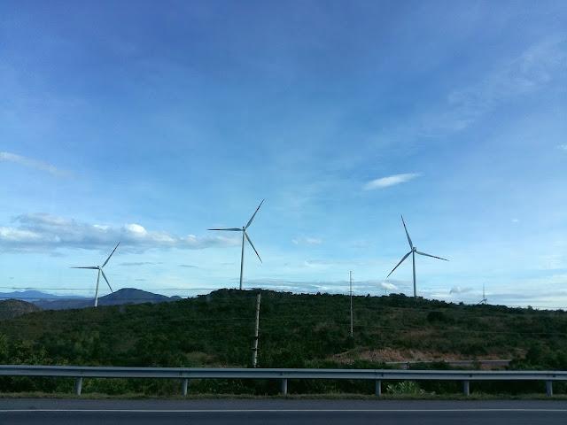 дорога из аэропорта Нячанга на курорты Фантьета