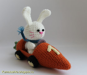 заяц в морковкомобиле описание
