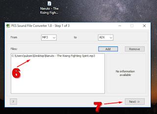 Cara Merubah Lagu Ke Format ADX 3