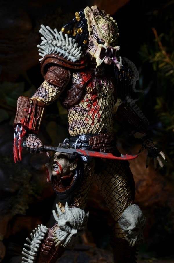 A Closer Look at the NECA Bad Blood Predator - Scified com