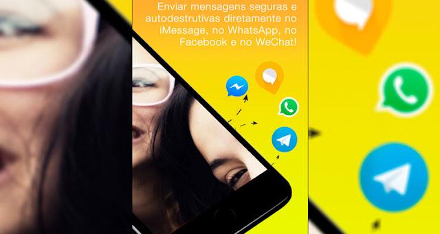 Agora você sabe como enviar mensagens que se autodestroem pelo WhatsApp – Reprodução