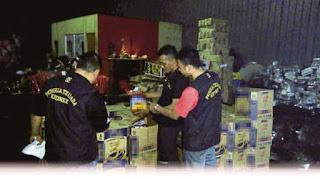 Cubaan Seludup Minyak Masak Bernilai RM150,000 Ke Thailand