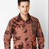 Model Baju Batik Lengan Panjang Style Terbaru
