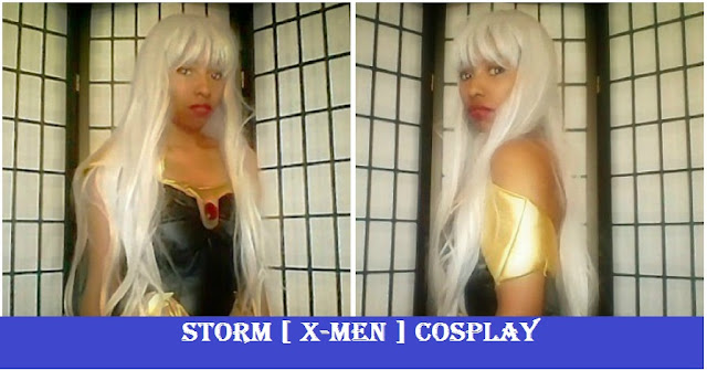 X-Men Storm Cosplay and Costume Review Ororo Monroe JAsmine MinYe