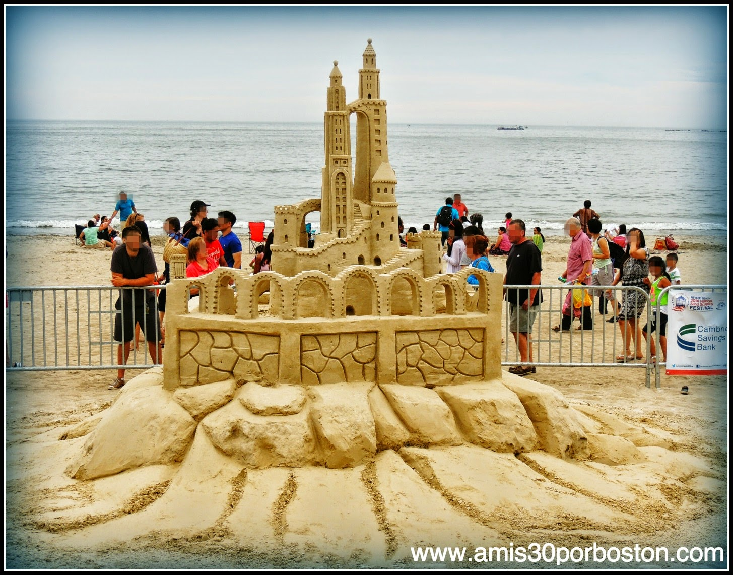 "Revere Beach 2014 National Sand Sculpting Festival: ""The Long Walk"""