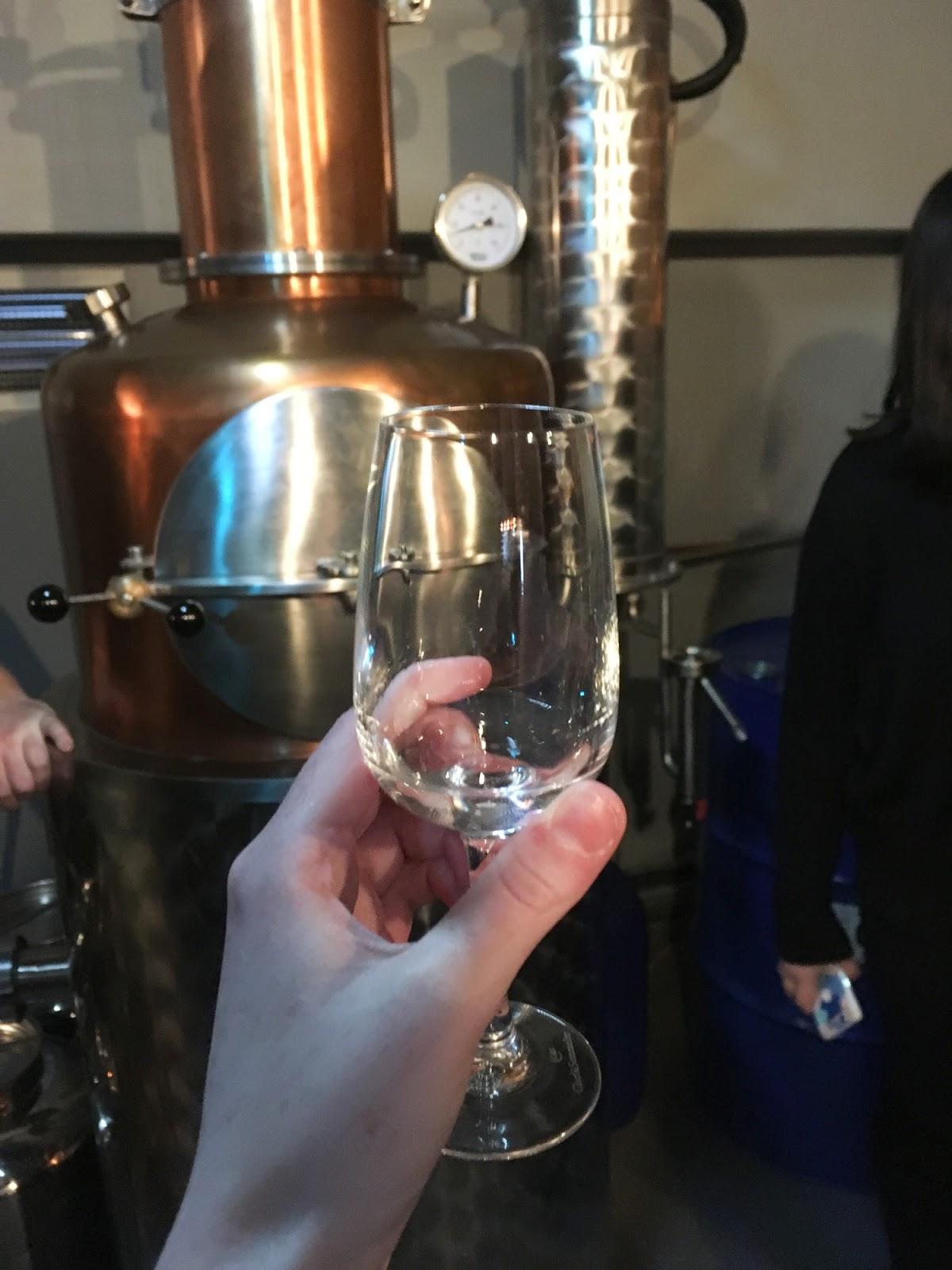 gin distillery st andrews