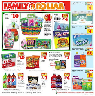 New Family Dollar Weekly Ad March 29 - April 7, 2018