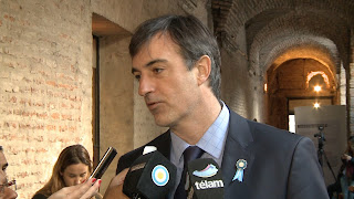 ministro de Educación y Deportes de la Nación, Esteban Bullrich.