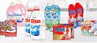 Logo Concorso Henkel: vinci 62 carnet di buoni spesa da 300 euro
