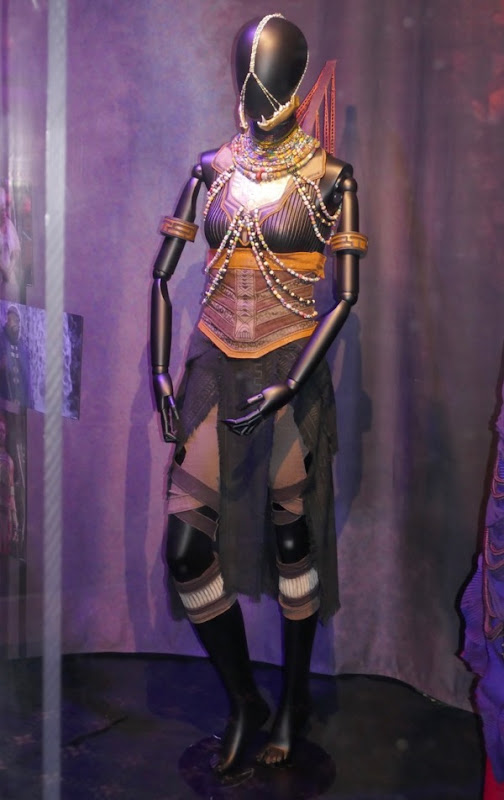 Letitia Wright Black Panther Shuri film costume