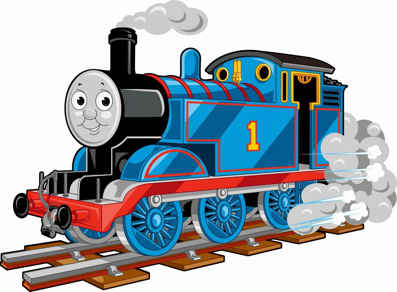 clip art thomas train - photo #16
