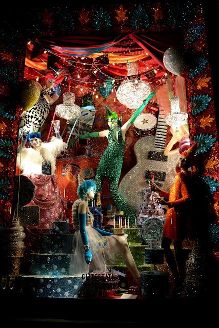 Рождественский Нью-Йорк - 2015: витрины Bergdorf Goodman