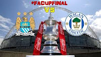 Hasil Video Manchester City VS Wigan Athletic Final Piala FA 12 Mei 2013