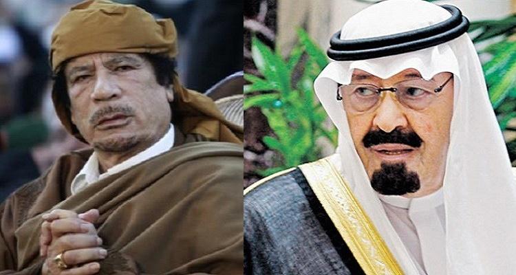 """صحيفة """"ذي اندبندنت"""" تكشف حقيقة محاولة القذافي اغتيال الملك السعودي عبد الله"""
