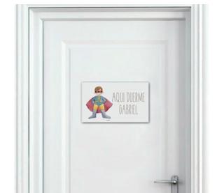 placas puerta