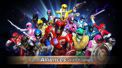 Power Rangers Legacy Wars Mod APK+Data