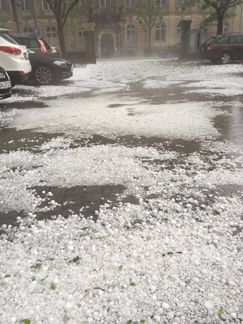 Hagel-Unwetter in Ansbach (c) by Joachim Wenk