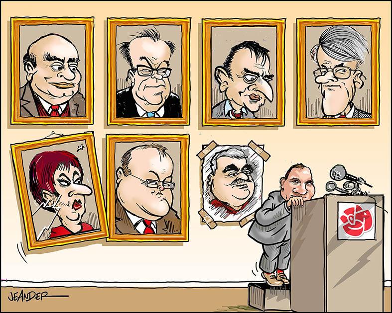 JEANDERS BILDBLOGG: Socialdemokraternas partiledare