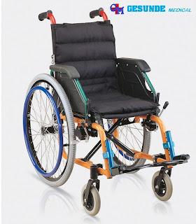 Kursi Roda Anak Alumunium