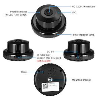 Q1 wireless camera wifi mini