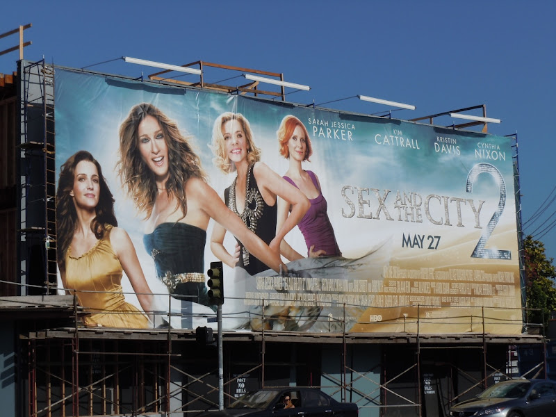 Sex and the City 2 billboard