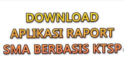 Aplikasi Raport SMA berbasis KTSP