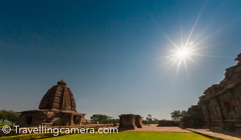 UNESCO defines Pattadakal as harmonious blend of architectural forms from North & the South India. These hindu temples are usually dedicated to Shiva but some elements of Vaishnavism & Shaktism can also be found around Pattadakal. Many stories of Ramayana, Mahabharata & Bhagvada Geeta are depicted through intricate arts on the walls of these temples.