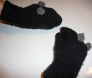 rękawiczki ze swetra krok po kroku