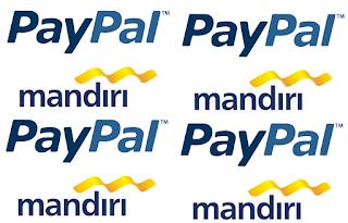 Cara Mengisi Saldo Paypal Dengan Bank Mandiri
