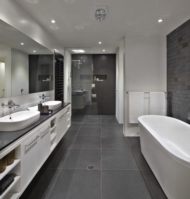 Black Gray Bathroom Ideas: Branco E Cinza é A Combinação Do Momento
