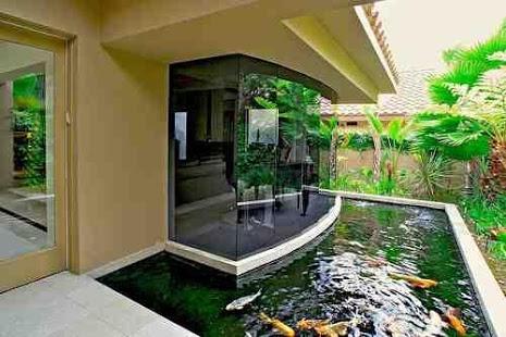40 gambar kolam ikan minimalis (kolam ikan koi, kolam ikan