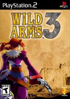 Wild Arms 3 PS2 Box Art